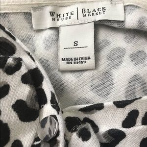 White House Black Market Sweaters - WHBM snap cardigan